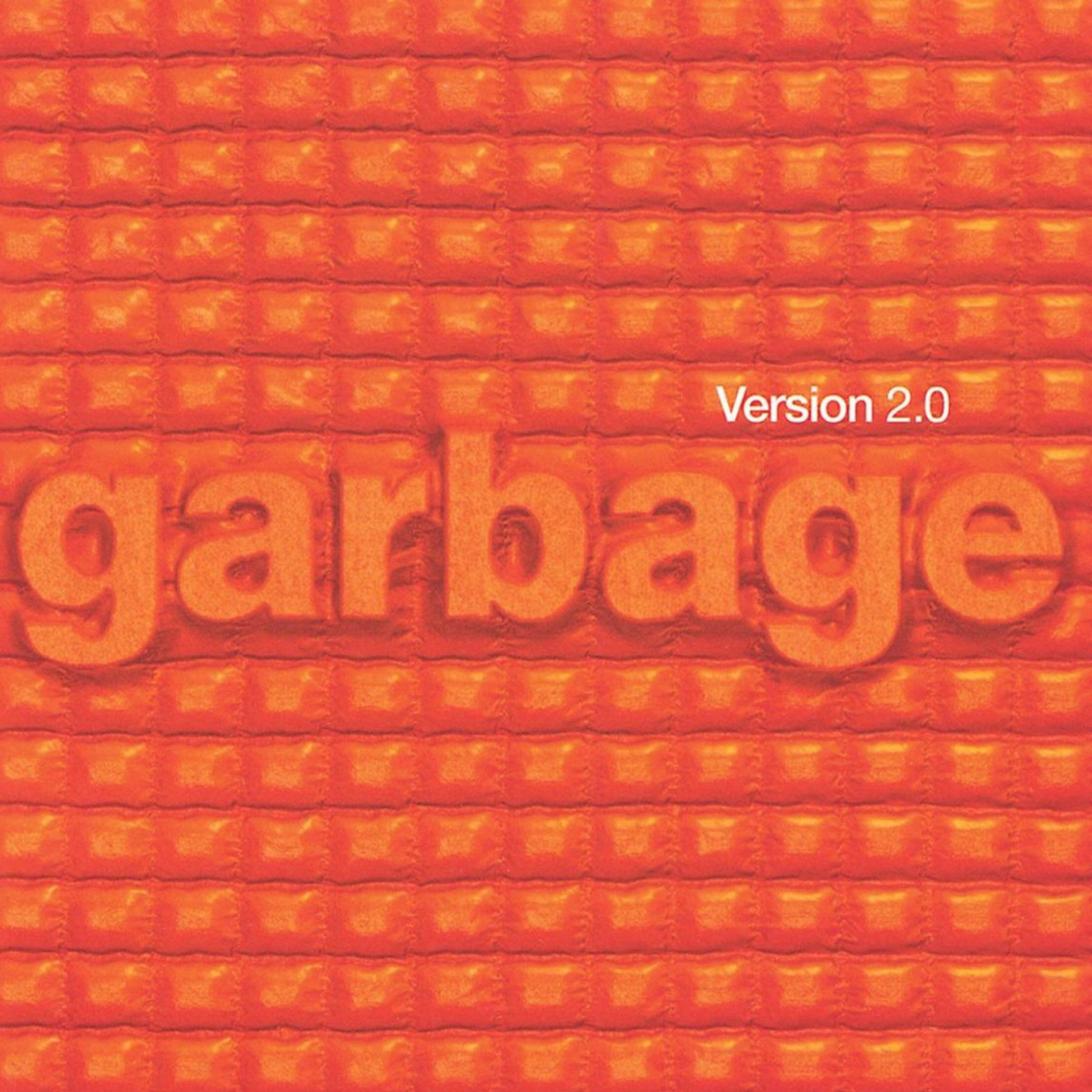 Album Cover of Version 2.0 by Garbage.
