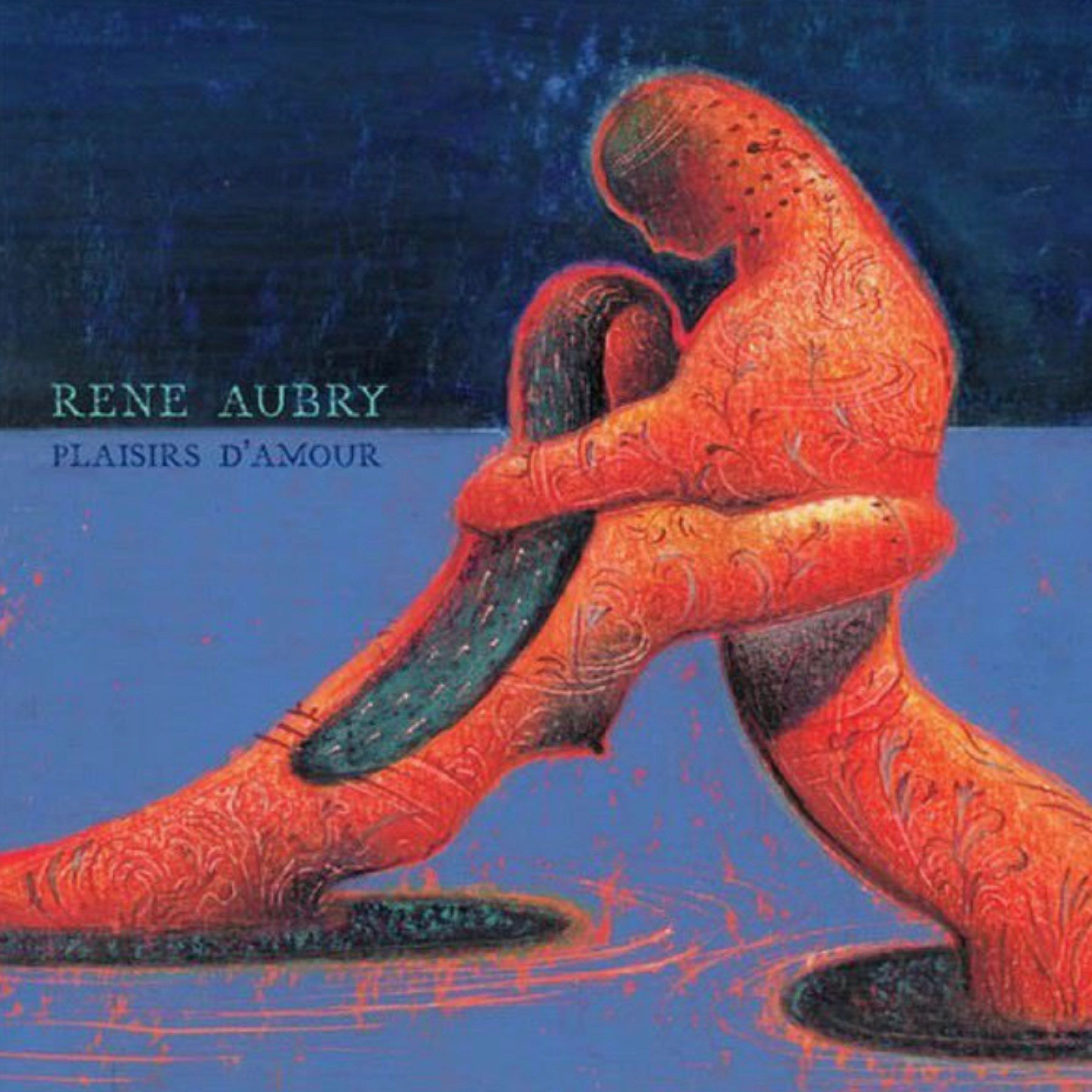 Album Cover of Plaisirs d'amour by René Aubry.